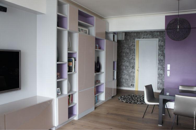 110 m restructur for Agence architecture interieur paris