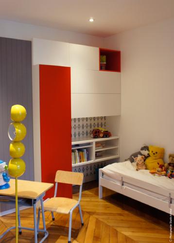 Architecture appartement haussmannien en duplex - Appartement en duplex abraham architects ...