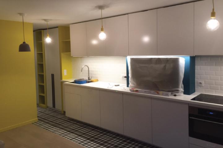 Architecte d 39 int rieur paris studio azimut cabinet d - Centre commercial daumesnil ...