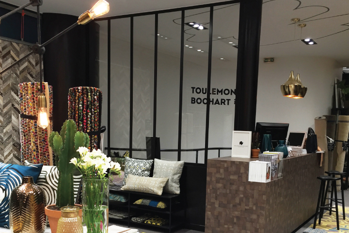 nouveau showroom toulemonde bochart