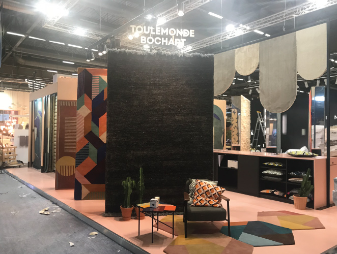 stand toulemonde bochart maison et objet 2018. Black Bedroom Furniture Sets. Home Design Ideas